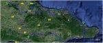 Baracoa to Santiago de Cuba, Cuba (~250km)