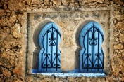"""28-Mar-2015: Chefchaouen, Morocco. The sights... sounds... smells... the city SCENE. Walking the streets of Chefchaouen, also known as the """"Blue City."""" It is such a uniquely cute little town. And, YES, almost everything is a shade of blue."""